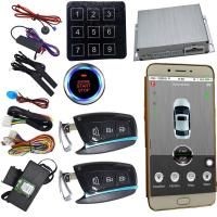 Wholesale Gps Car Alarm That Connects To Phone smartphone remote start With Smart Key Auto Central Lock from china suppliers
