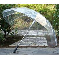 Wholesale Automatically open umbrella skeleton win-Transparent Clear Dome contracted 16K from china suppliers