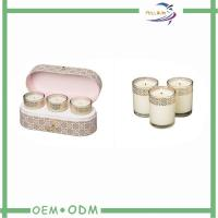 Wholesale Elegant Candle Box Packaging Oval Kraft Cardboard Candle Storage Packaging Boxes from china suppliers