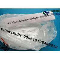 Wholesale 4- Chlorodehydromethyltestosterone Anabolic Steroid Powder cas 2446-23-3 from china suppliers