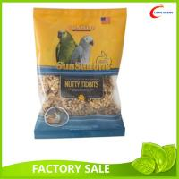 Wholesale Big Size Heat Seal CMYK Printed Pet Food Bag , Bird Seeds Packaging Bag from china suppliers