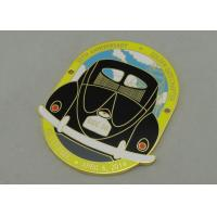 Wholesale GGC Die Cast Souvenir Badges Zinc Alloy With Gold Plating for awards from china suppliers