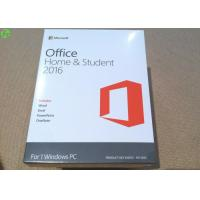 Wholesale Microsoft office 2016 product key card home and student on line activation key from china suppliers