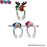 Wholesale Fashion Design Plush Animal Xmas Ear Muff Be Christmas Decorate from china suppliers