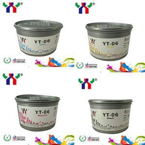 YT-06 eco-friendly soya offset printing ink for melamine