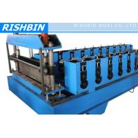 Wholesale CE & ISO Metal Deck Roll Forming Machine with 22 KW Power for Floor Deck from china suppliers