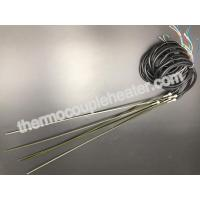 Wholesale Straight Hot Runner Coil Heaters With J Type Thermocouple And Black Silicone Cable from china suppliers