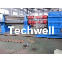 Wholesale 3 - 6mm Corrugation Rolling Machine With 45kw Motor and PLC Control Box from china suppliers