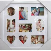 Wholesale Best selling plastic photo frame white photo frame multi photo frame square photo frame from china suppliers