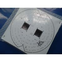 Wholesale White Solder Mask Single PCB Fabrication FR4 , LED Light Circuit Board from china suppliers