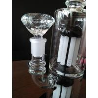 Quality Hand Blown Pyrex Thick Wall Double Armtree Percolators Glass Bong Bubbler for sale