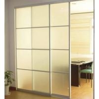 Wholesale Interior Decorative Sliding Glass Partition Walls Obscure Tempered from china suppliers