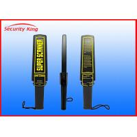 Wholesale Bomb Hand Held Security Scanner , Handheld Metal Detector Wand Use In Airport from china suppliers