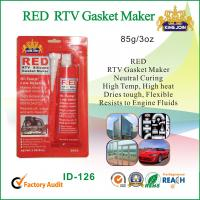 Wholesale Flexible Acetic Cure Silicone Sealant / Red Gasket Maker With Heat Resistant from china suppliers