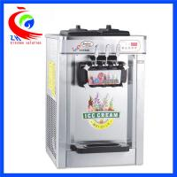 Wholesale Table Top Commercial Ice Cream Machine Kitchen Equipment 3 Flavor With Three Handle from china suppliers
