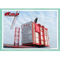 Quality Building Site Industrial Elevators And Lifts , Man Material Hoist High Power for sale