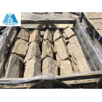 Buy cheap Sesame Yellow Granite L Corner Stone One Piece Corner Stone for Wall Decoration Wall Cladd from wholesalers