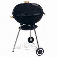 "Wholesale 22"" Trolley Big Size Aaple/Kettle BBQ Grills with 79cm Cooking Height from china suppliers"