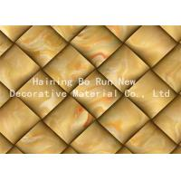 Quality Printable Hot Stamping Foil Rolls , Pvc Membrane Foil For Doors Strong Adhesion for sale