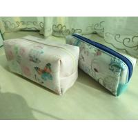 Quality High quality leather makeup bag for sale