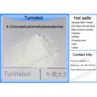 Wholesale Steroid Hormone powder Anabolic Steroid raw powder 4-Chlorodehydromethyltestosterone/Oral Turinabol CAS 2446-23-3 from china suppliers