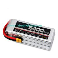Quality 35C 5400mAh RC Battery for Large fixed-wing, helicopter, four-axis multi-rotor, car models, electric motor within 120A for sale