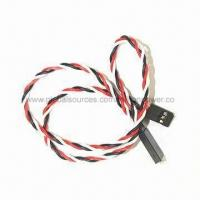 Wholesale 420mm Servo Extension Cord and Cable, Used for RC Car, Plane and Helicopter Servo Connection from china suppliers