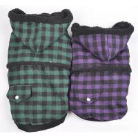 Wholesale S M L XL XXL Cute Hoodies Warm Dog Winter Coats with Blue and Purple from china suppliers