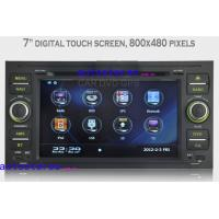 Wholesale DVD SD USB Dual Zone Ford Car Stereo for Ford Focus S-max Galaxy Transit Kuga GPS from china suppliers