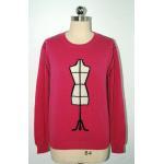 China Fashionable Intarsia Knitting Patterns Sweaters Anti Pilling Flat Seam for sale