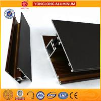 Wholesale T5/ T6 Industrial Aluminium Profiles Rich Wood Pattern UV Protection from china suppliers