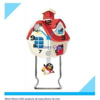 Wholesale funny desk clocks of house shape  from china suppliers