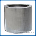paper pulping equipment inflow stainless steel pressure screen basket