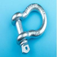 Wholesale Size 5/8 WLL Drop Forged Hot Dip Galvanized Screw Pin Lifting Bow Shackle for Rigging from china suppliers