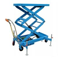 Wholesale Scissors type lift platform forklift with handles to move from china suppliers