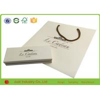 Wholesale Free Design Recyclable Printed Kraft Paper Bags White Paper Shopping Bags from china suppliers