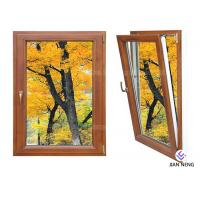 Wholesale Inward Tilt Turn Aluminium Windows And Doors Wooden Color With Powder Coating from china suppliers