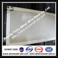 Wholesale diamond hole perforated metal panels from china suppliers