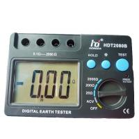 Quality Ground Digital Earth Resistance Tester LCD megger earth tester for sale