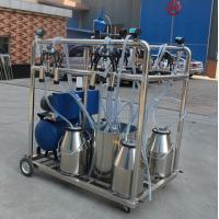 Wholesale Mobile Bucket Milking Machine With 4 Buckets And High Technology HL-JN03 from china suppliers