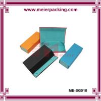 Wholesale Art paper blue cardboard paper box, sunglass packing box ME-SG010 from china suppliers