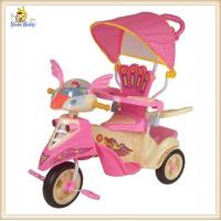 Wholesale Pink Baby 3 In 1 Smart Trike With Canopy , Lovely Tricycles For 2 Year Olds from china suppliers