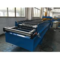 Wholesale 7.5kw Corrugated Sheet Metal Roll Forming Machine With Electrical Decoiler from china suppliers