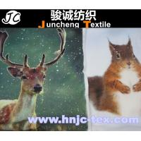 Wholesale New lively moose/squirrel pattern pillow new fabric for living room decoration from china suppliers