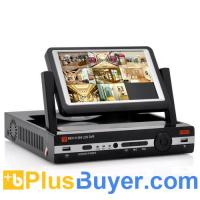 Buy cheap 8 Channel DVR with 7 Inch Flip-up Monitor (H.264, D1 Resolution, HDMI Port) from wholesalers