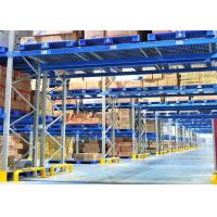 Wholesale Steel Heavy Duty Storage Shelving , Cold Warehouse Industrial Pallet Racking  from china suppliers