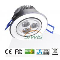 Wholesale High lumen LED Ceiling Downlights 240v 3W cri 84 Edison /  Cree For Hall from china suppliers