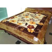 Wholesale Soft 2 Ply 100% Polyester Blanket Antistatic With Mixed Colours , 180X230CM from china suppliers