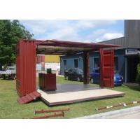Wholesale Modified 20FT Container House For Shop Store / Modified Container Shop Store from china suppliers