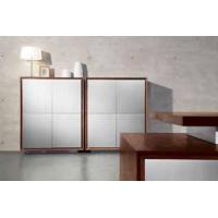 Wholesale Simple Wooden Sideboard / Walnut Sideboard Natural Wood Color Cabinet Plywood Veneer from china suppliers